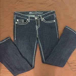 Blue Asphalt Jeans, size 9, great Condition
